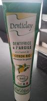 Denticlay Dentifrice Argile Citron - 75 ML - Ciel D'Azur - Produit - fr