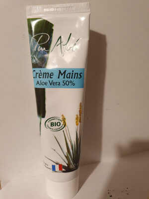 Crème Mains Aloe Vera 50% - Produit