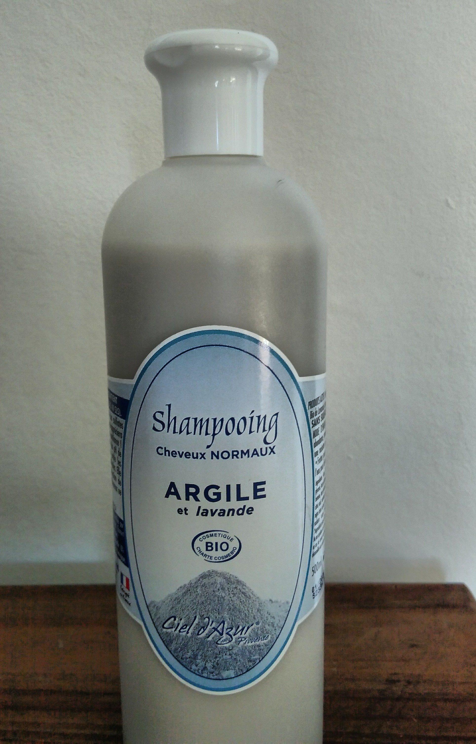 Shampoing cheveux normaux Argile et Lavande - Produit - fr