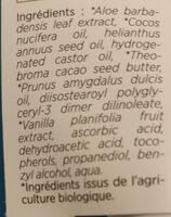 soin lèvres aloé véra 50% bio & équitable - Ingrédients