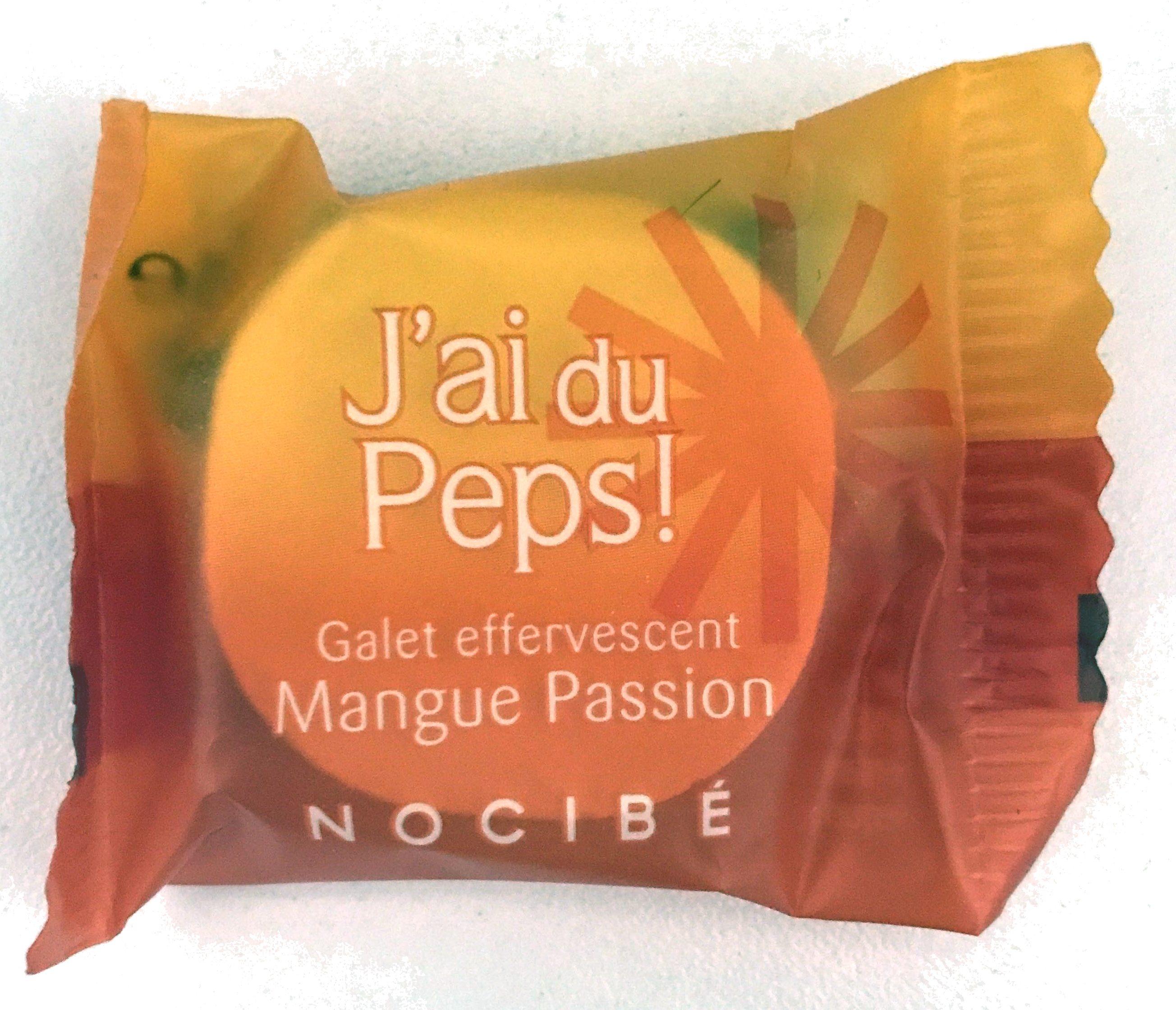 J'ai du Peps ! Galet effervescent Mangue Passion - Product