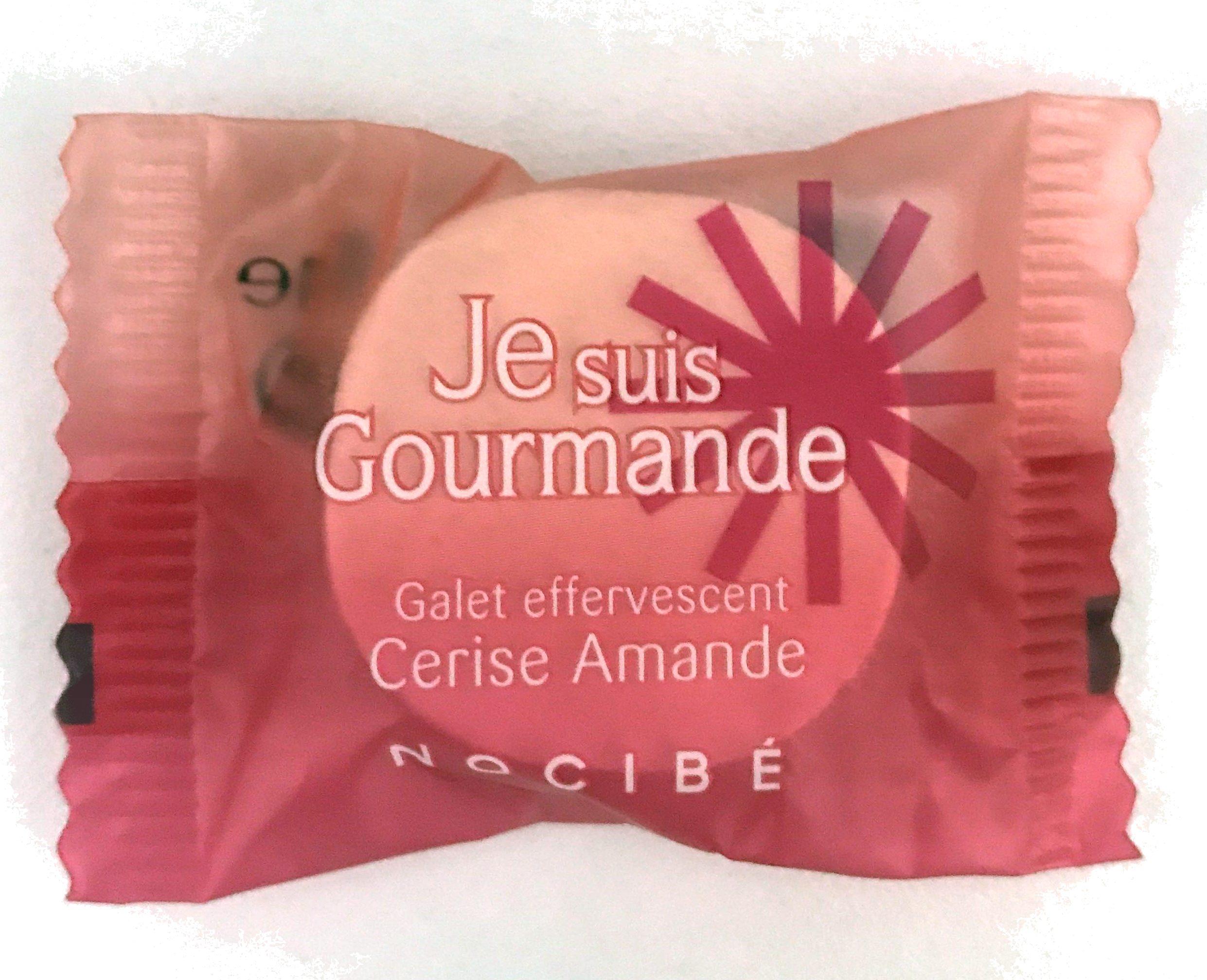 Je suis Gourmande Galet effervescent Cerise Amande - Product - fr