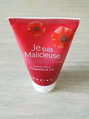Crème mains Coquelicot Lin (Je suis Malicieuse) - Product - fr