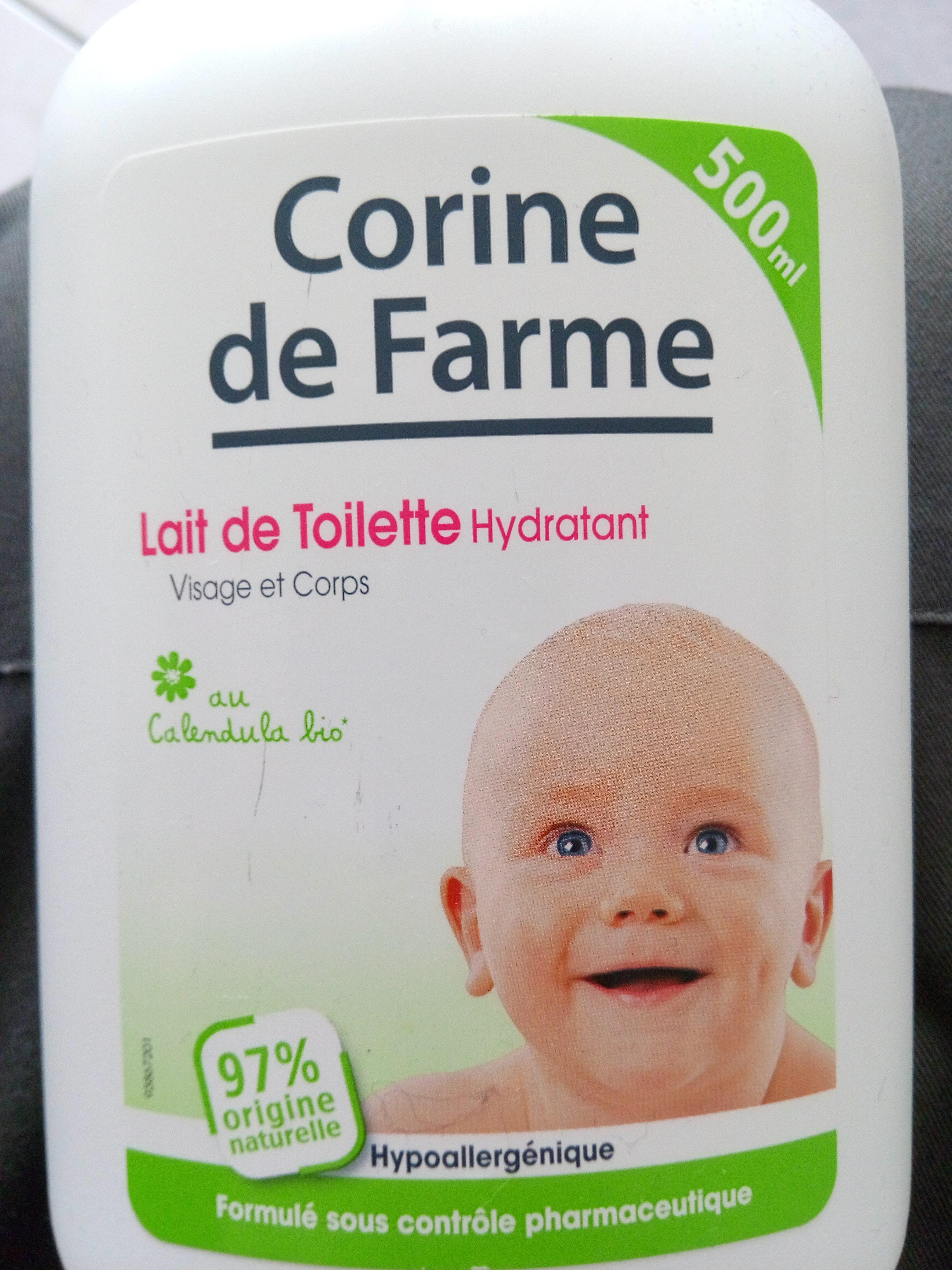 Corine de Farme Lait de Toilette Hydratant - Produit