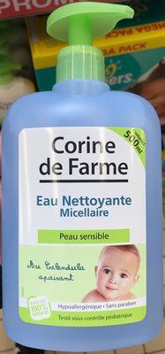 Eau nettoyante micellaire au calendula apaisant - Produit