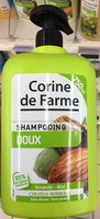 Shampooing doux Amande - Miel - Product