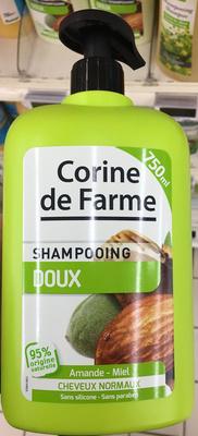 Shampooing doux Amande - Miel - Produit