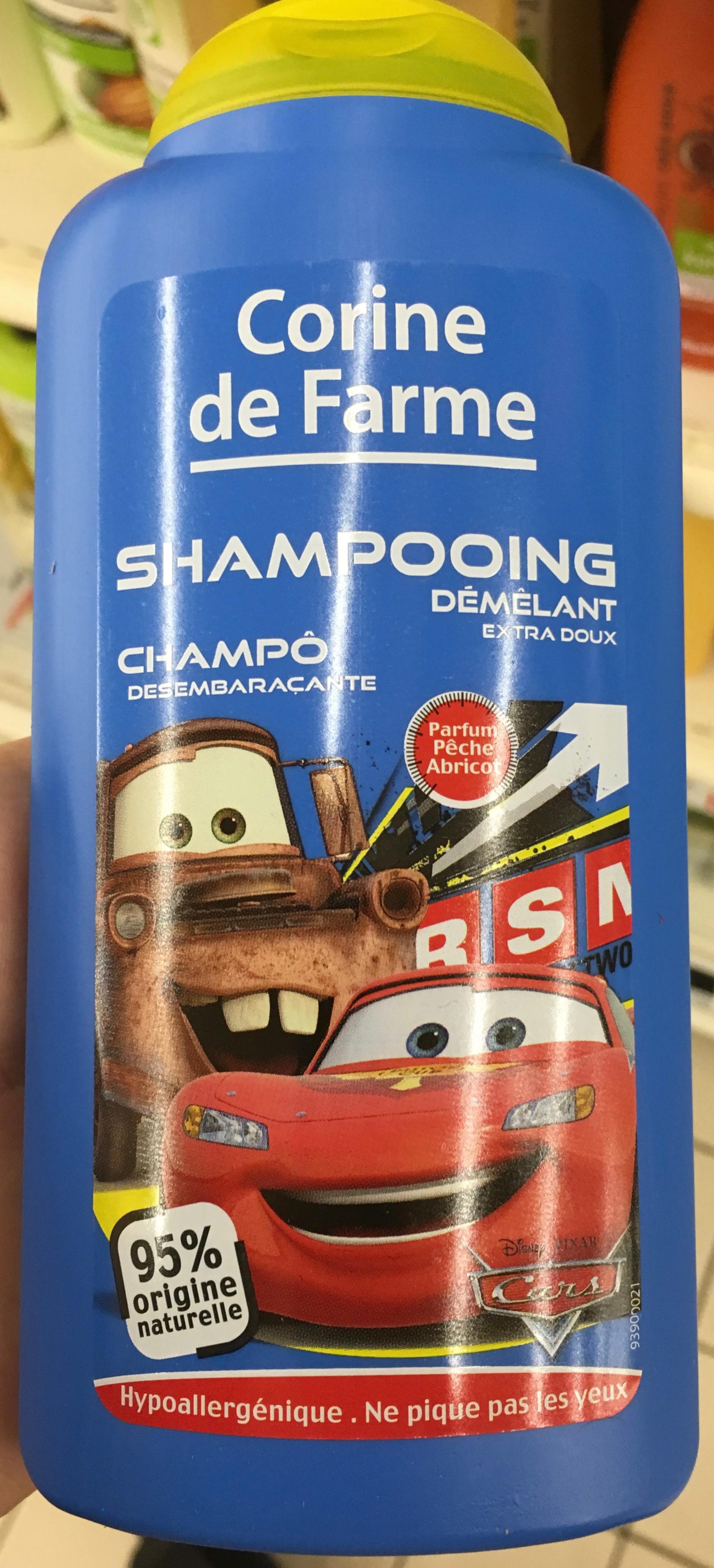 Shampooing démêlant extra doux Parfum Pèche Abricot - Produit