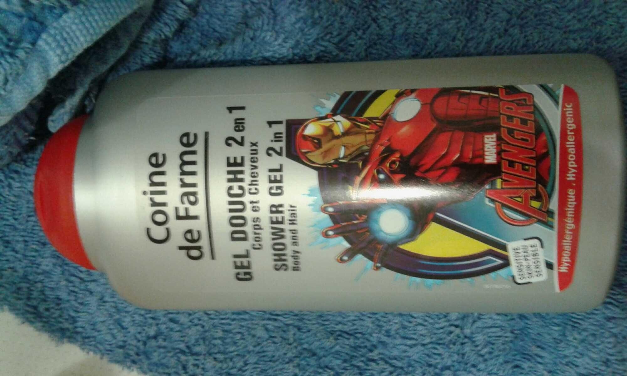 gel douche 2en1 corps et cheveux - Product