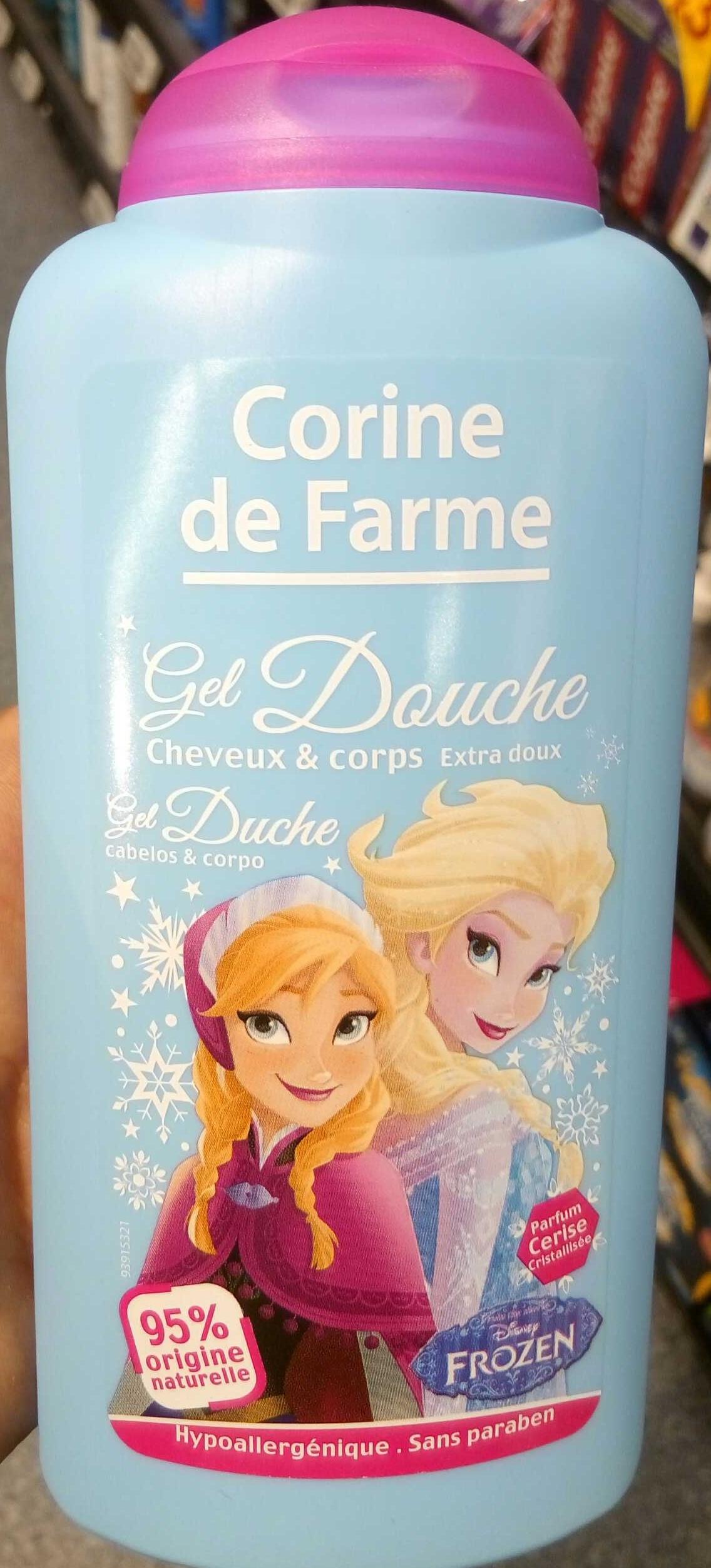 Gel douche cheveux et corps extra doux Parfum Cerise cristallisée - Produit - fr