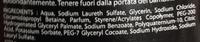 Power Gel douche corps et cheveux fraicheur - Ingredients