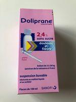 doliprane 2,4% - Produit