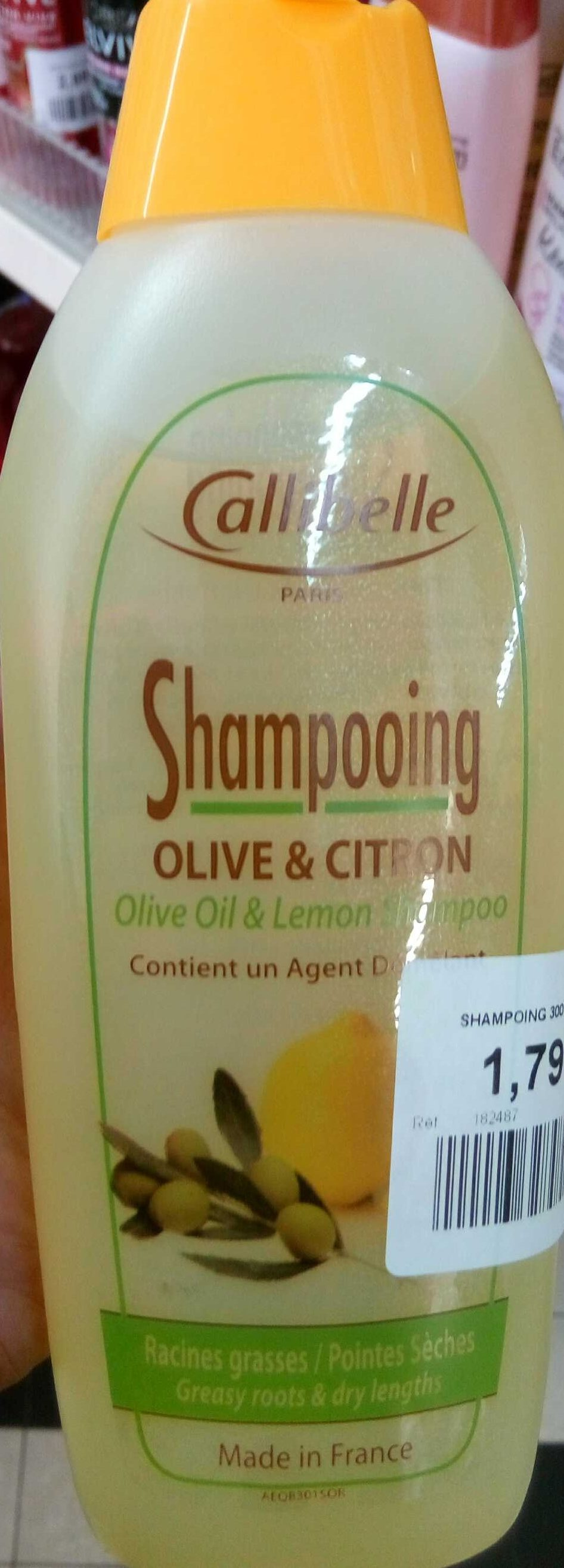 Shampooing olive & citron - Product