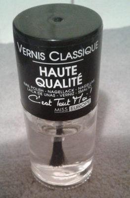 Vernis classique - Produit