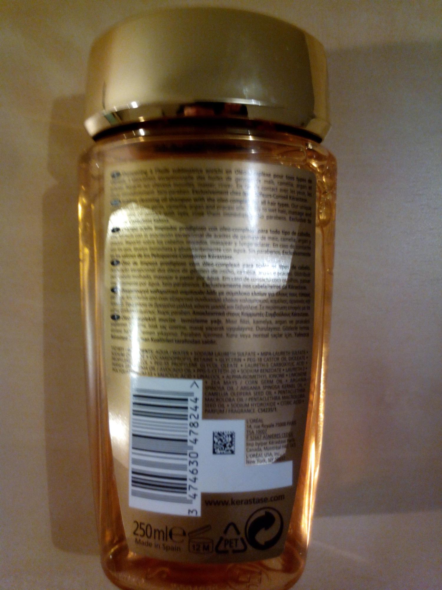 Kérastase Bain Elixir Ultime - Ingredientes