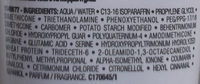 Steam Pod Crème de lissage restructurante - Ingredients - fr