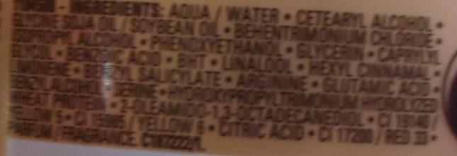 Nutrifier Glycerol - Ingrédients