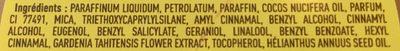 Graisse à traire scintillante - Ingredients
