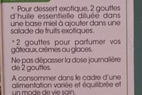 Huile Essentielle Ylang-ylang Bio - Ingrédients - fr