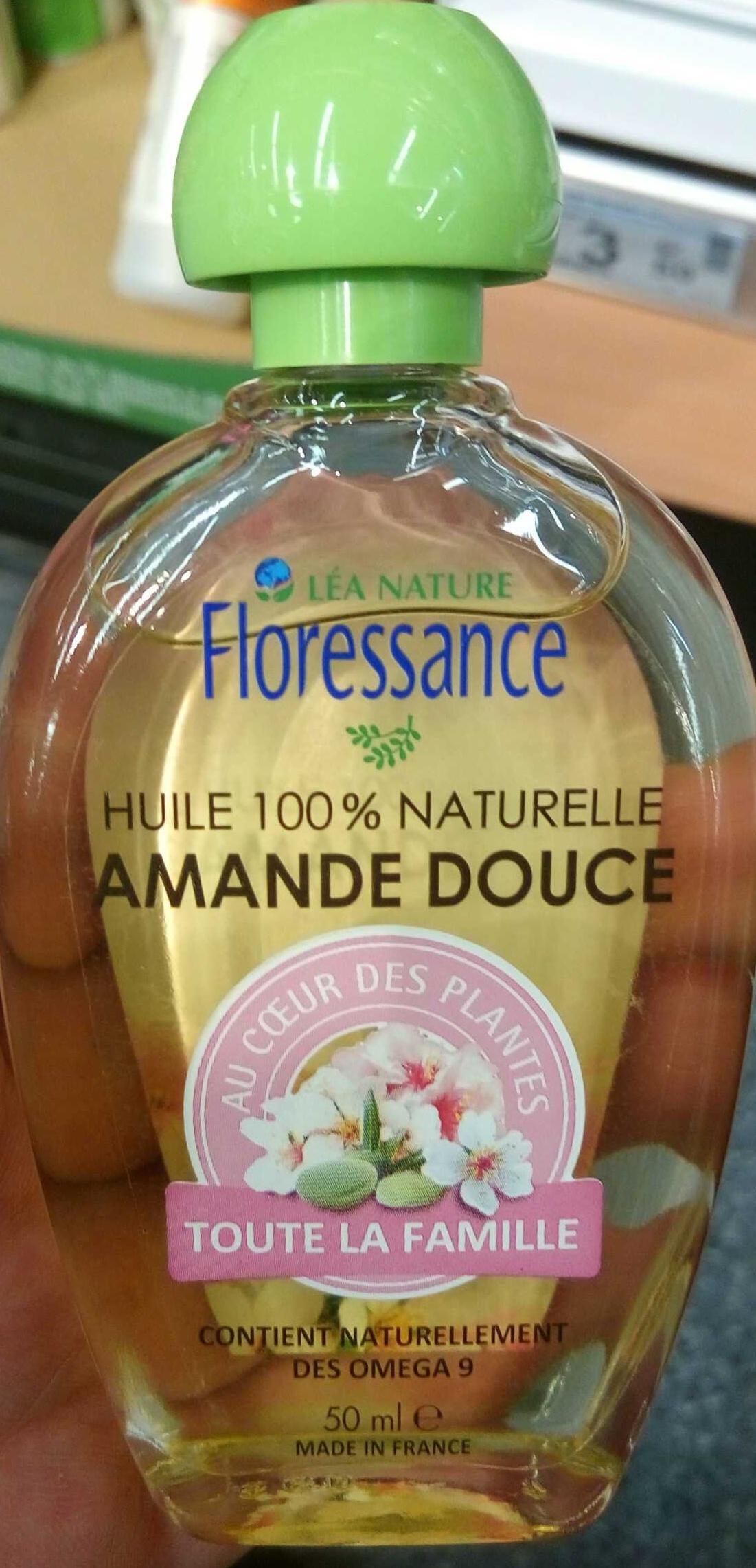 Huile 100% naturelle Amande Douce - Produit - fr