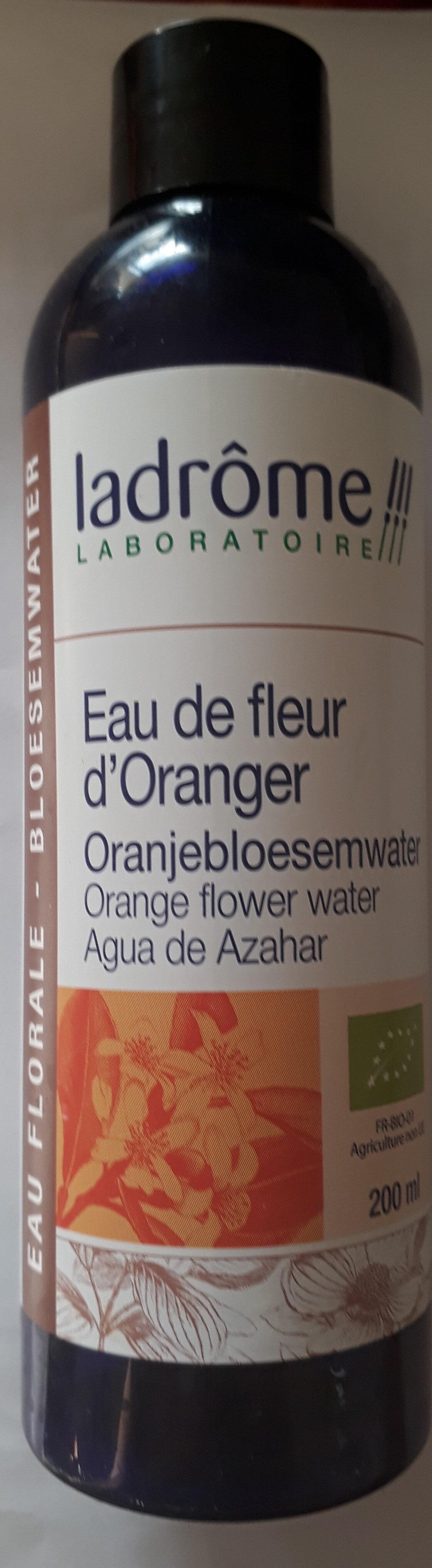 Eau de fleur d'oranger - Produit - fr
