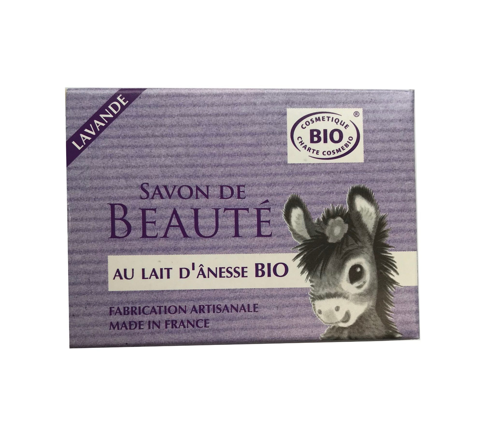 Savon de beauté lavande au lait d'ânesse bio - Product