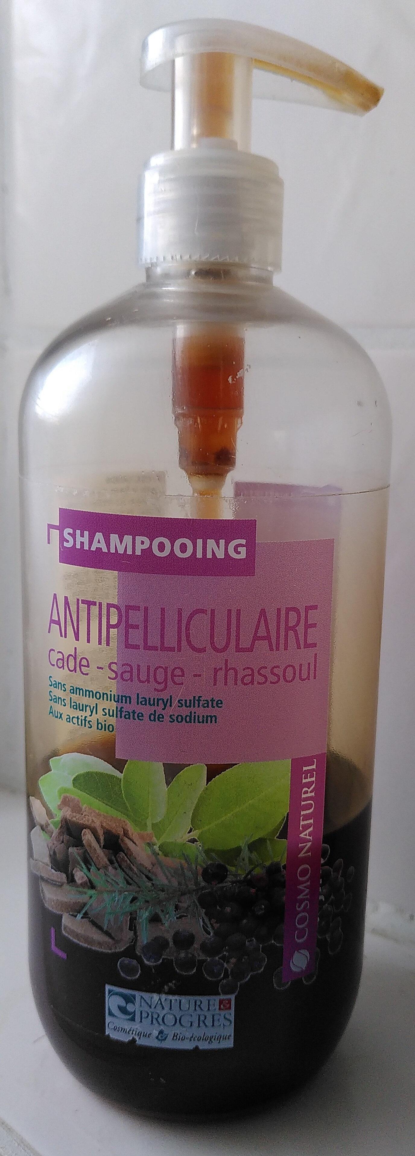 Shampooing antipelliculaire  cade-sauge-rhassoul - Produit