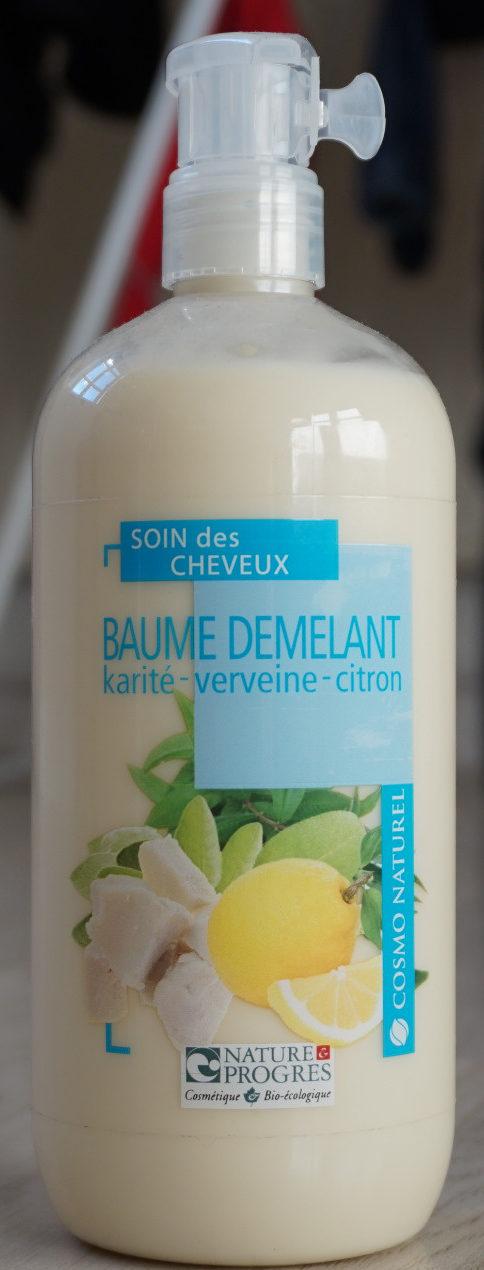 Baume demelant Karité - verveine - citron - Produit