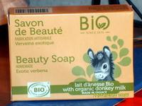 Savon de beauté  Verveine exotique Lait d'ânesse bio - Product