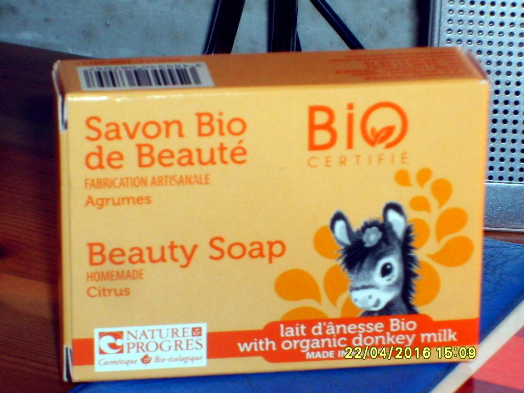 Savon Bio de beauté Agrumes Lait d'anesse Bio - Product - fr