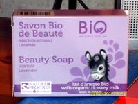Savon bio de beauté  Lavande et lait d'ânesse bio - Produit - fr