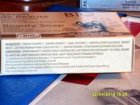 Savon de beauté sans parfum au beurre de karité bio lait d'ânesse bio - Ingredients - fr