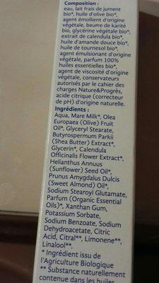 Crème de jour - Ingrédients - fr