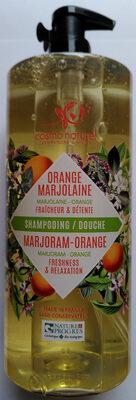 Shampoing/douche orange marjolaine - Produit - fr