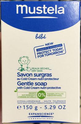 Savon surgras au Cold Cream nutri-protecteur - Product - fr