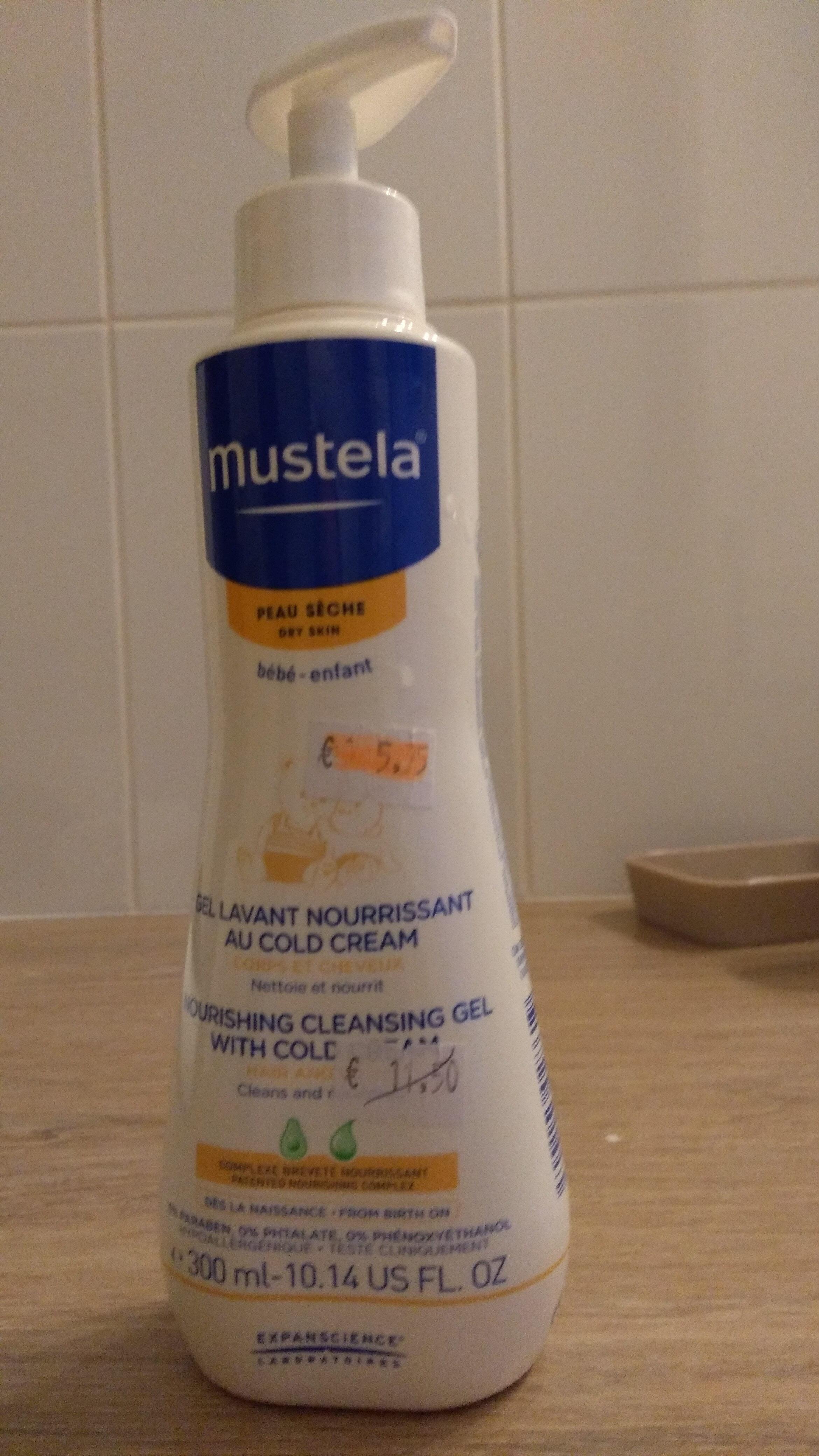 Mustela Gel Lavant Nourrissant au Cold Cream - Product - en