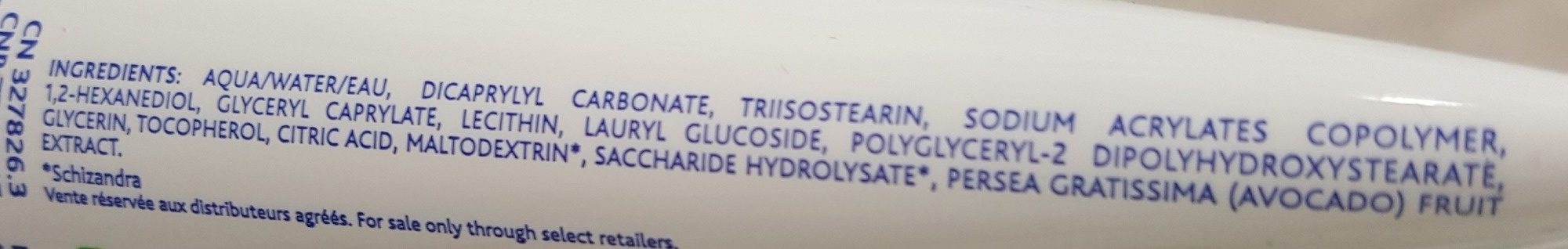 Mustela Lait Hydratant Apaisant - Ingredients
