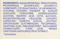 Crème hydratante apaisante visage - Ingredients - fr