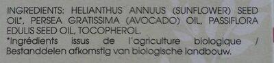 Huile vergetures - Ingredients - fr