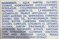 Hydra Bébé Crème visage - Ingrédients