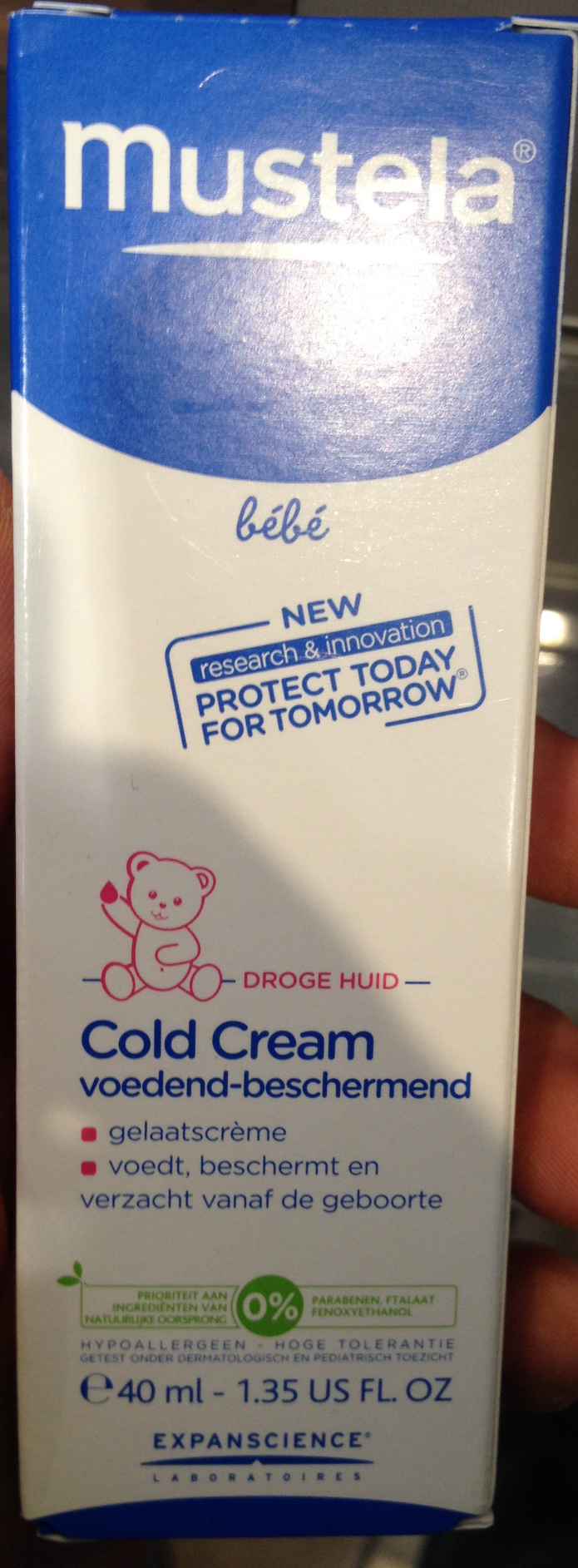 Cold cream bébé - Product - fr