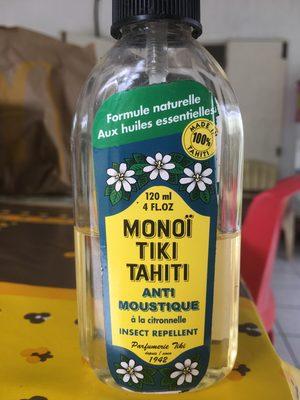 Anti moustique a la citronnelle - Product - fr