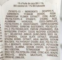 Crème visage Protection 100% Minérale SPF 50+ - Ingredients - fr