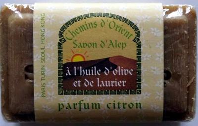 Savon d'Alep à l'huile d'olive et de laurier parfum citron - Product - en