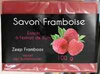 Savon Framboise - Product
