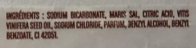 Bombe de Bain Charlotte parfum Mûre-Myrtilles - Ingrédients