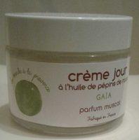 Gaïa : crème jour à l'huile de pépins de raisin parfum muscat - Product