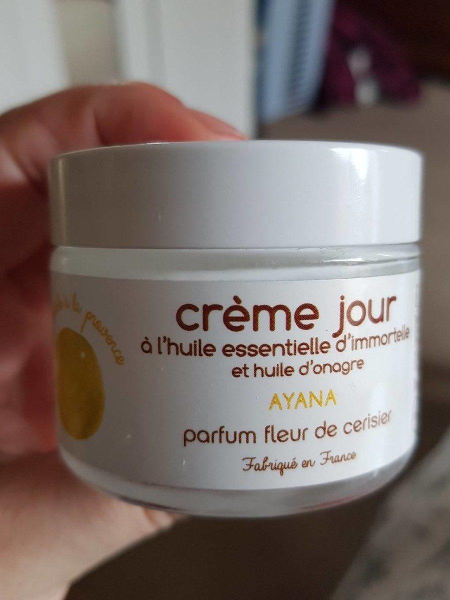 Ayana crème de jour parfum fleur de cerisier - Produit - fr
