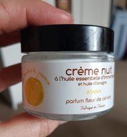 Ayana crème nuit parfum fleur de cerisier - Product