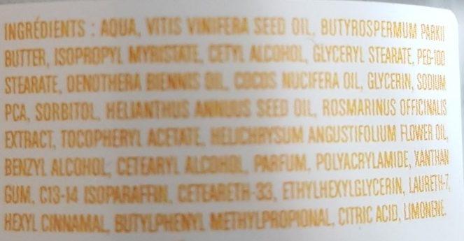 Ayana crème nuit parfum fleur de cerisier - Ingredients - fr